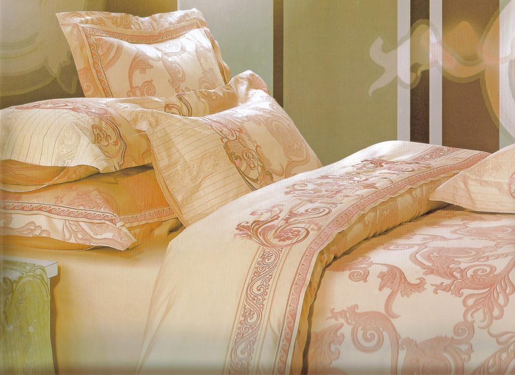 JACQUARD FABRIC BED SHEET SETS 1