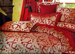 FASHION JACQUARD FABRIC BED SHEET SETS