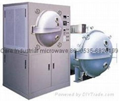 microwave dried fruit and tea baking equipment