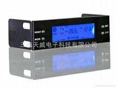 电脑机箱风扇调速器LCD温控器超大屏