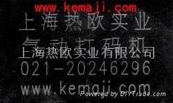 上海热欧电脑气动打标机 2