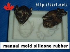 Manual mold design silicone rubber
