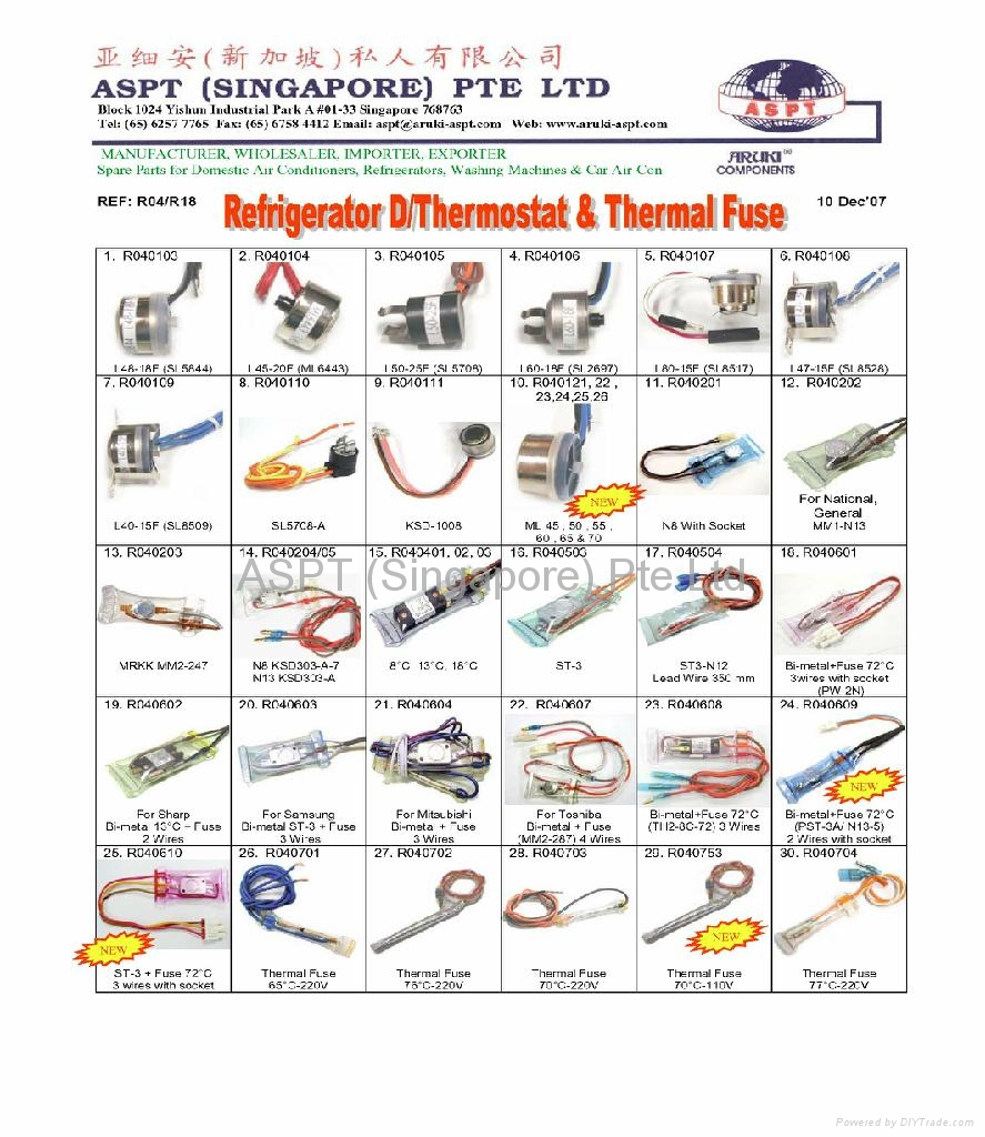 Refrigerator Parts: Refrigerator Parts And Accessories