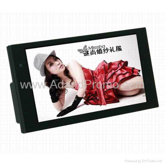 7 inch LCD advertising player 1