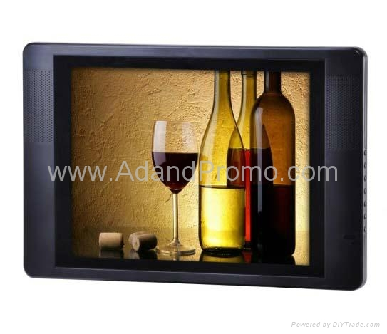 15 inch LCD advertising display 1