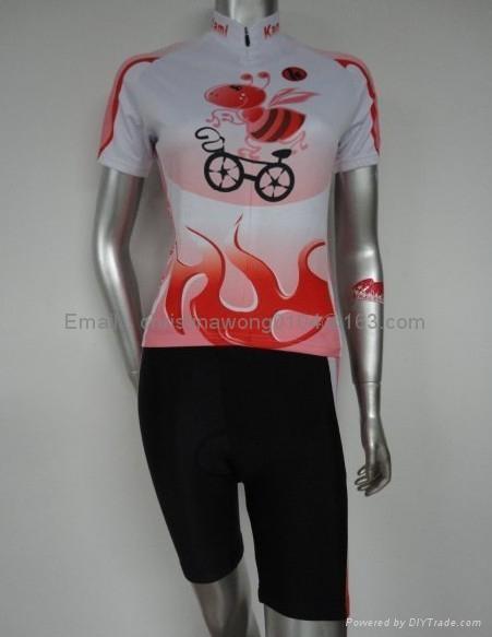 female cycling kit,women's bike clothes 1