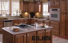 Glaze Maple Kitchen Cabinet
