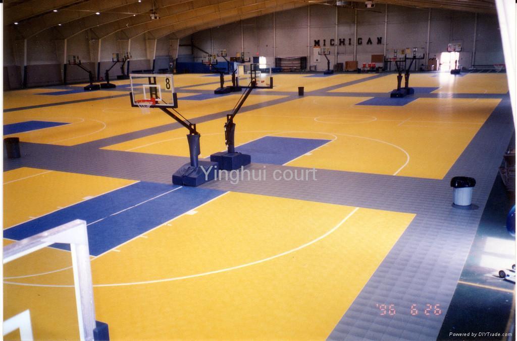 Basketball Court Floor I 01 Yinghui China Other