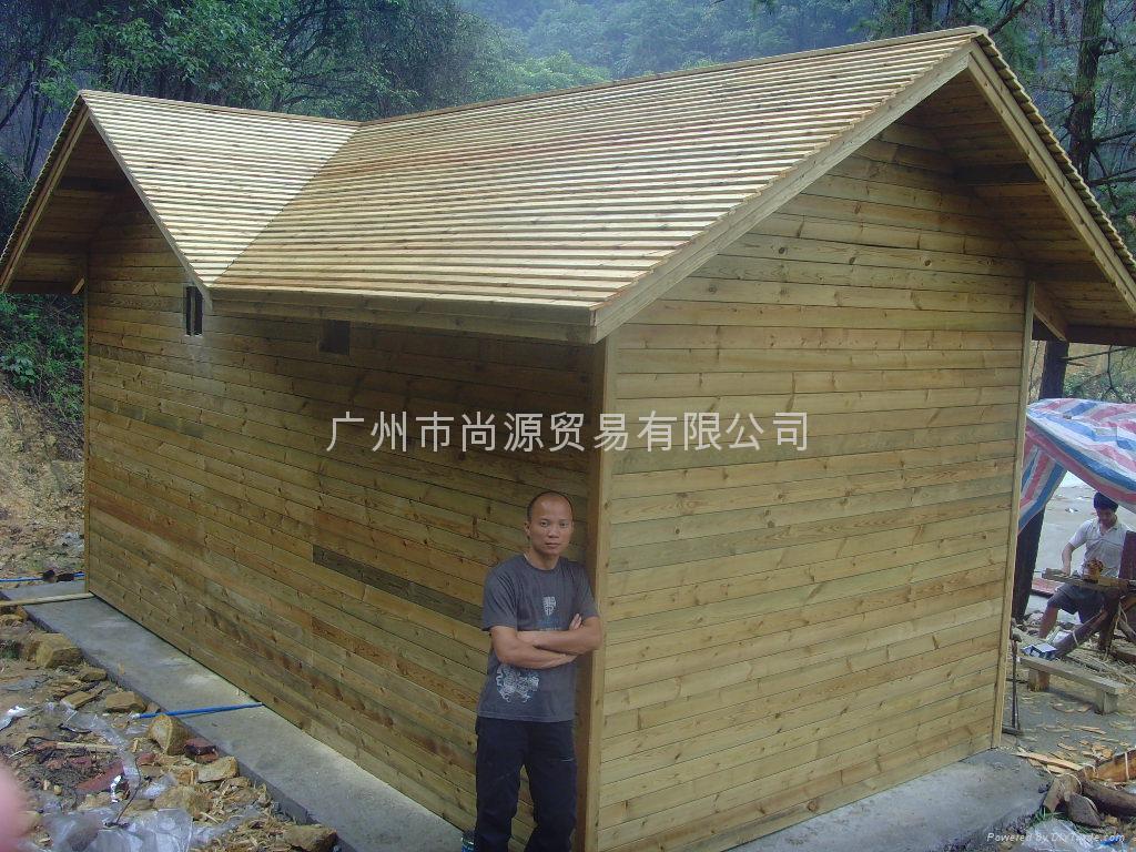 供应广东木结构屋