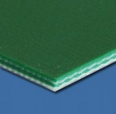 平面绿色PVC输送带