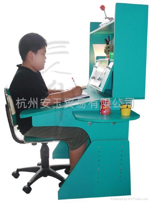 防近视防驼背学习桌学习椅电脑桌