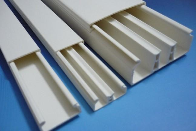 pvc electric trunking