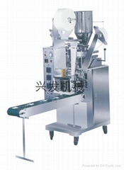 Automatic Packaging Machine For Tea-Bag With Hang Strand And Label