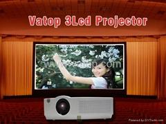 Vatop 6000Lumens  3LCD Projector