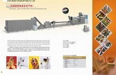Dog gum processing line