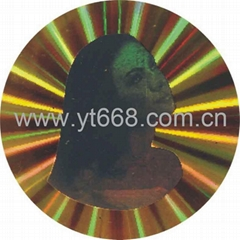 Dynamic hologram label