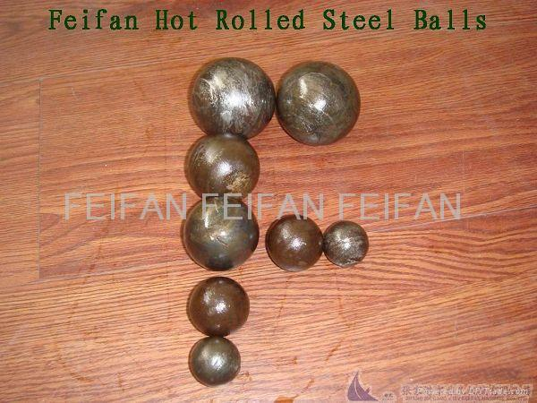 Hot rolled Steel Grinding Media balls for mines 2