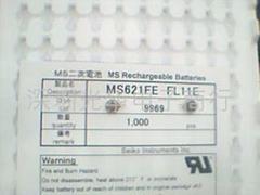 锂可充钮扣电池:MS621FE FL11E