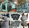 coal powder roller briquette press machine