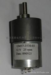 GM37,偏主出轴减速电机