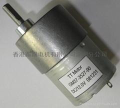 37JB齒輪減速永磁直流電動機