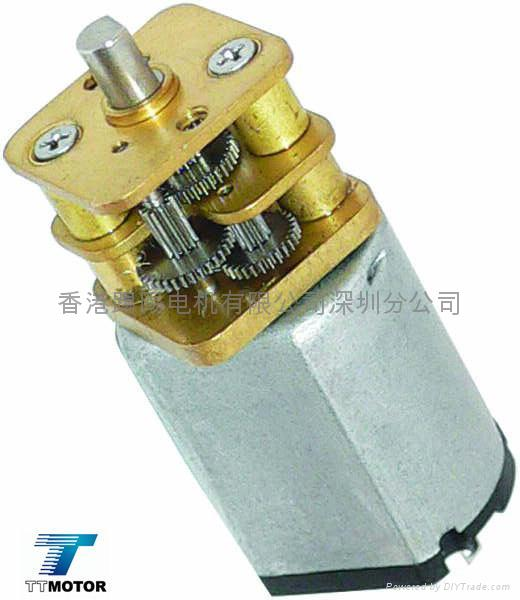 Dc motor with 13mm gearbox gm13 030 tt motor hong for Electric motor manufacturers in china