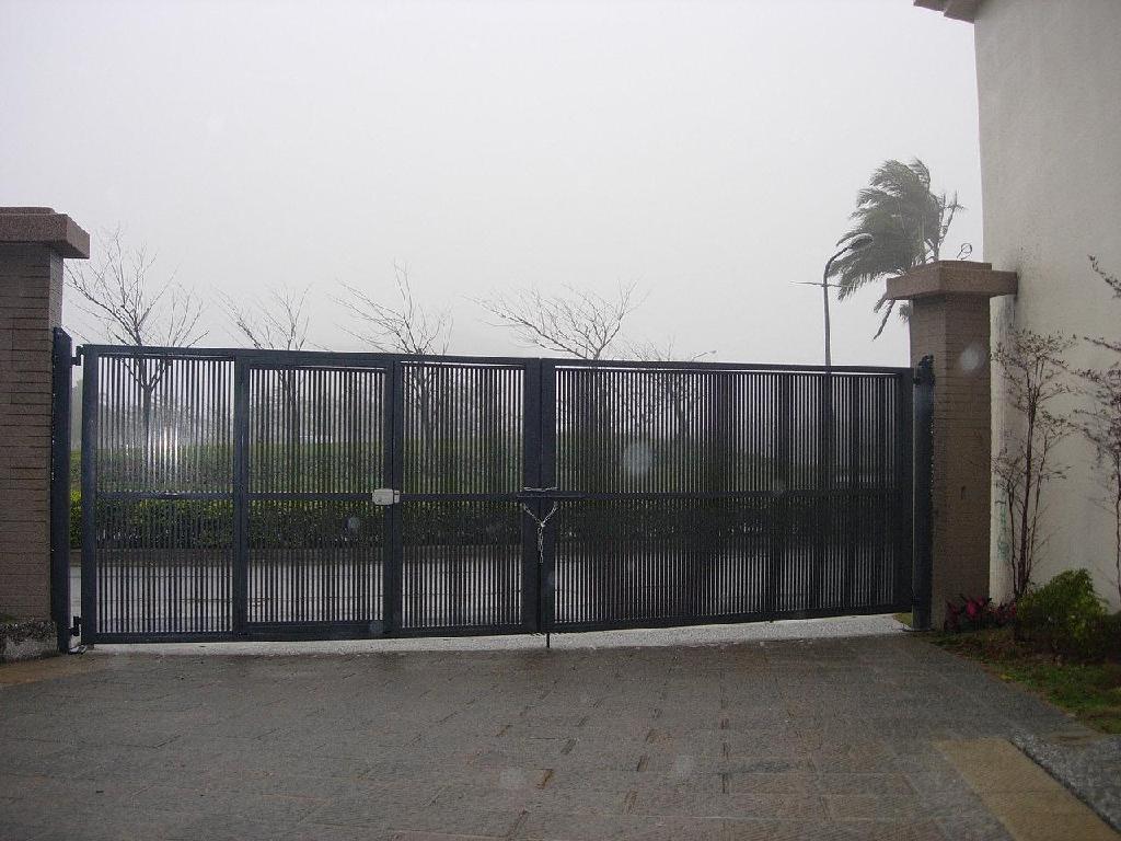 砖砌围墙大门效果图; 围墙大门 (台湾 服务或其他) - 金属窗 - 窗