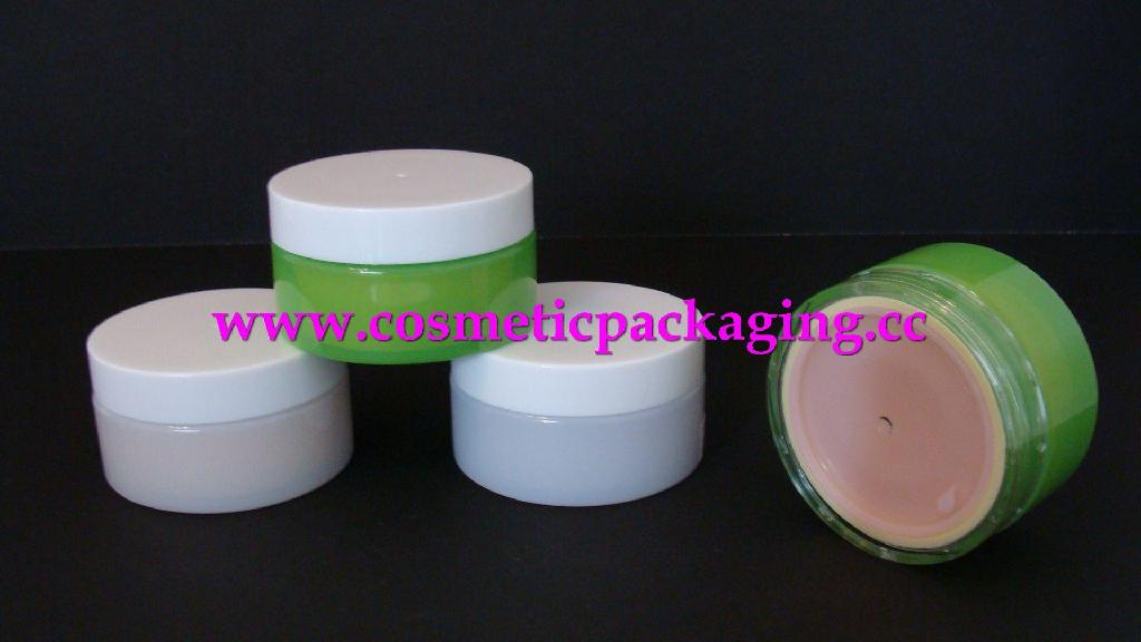 Cream Jar Lipgloss Case Cosmetic Packing PET Bottle Shampoo Container  1
