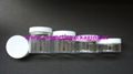 Cream Jar Lipgloss Case Cosmetic Packing PET Bottle Shampoo Container  3