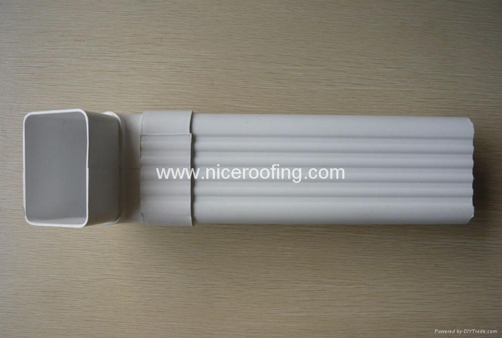 Vinyl Rain Gutter Ons6 Onices China Manufacturer