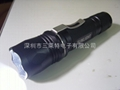 18650 Li-ion battery flashlight bright LED Q5