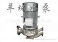 不锈钢耐腐蚀管道式离心泵 1