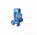 不锈钢耐腐蚀管道式离心泵 2