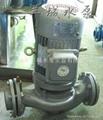 不锈钢耐腐蚀管道式离心泵 3