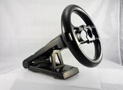 WII cradle steering wheel