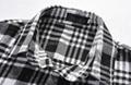 全棉色织法兰绒男士长袖休闲衬衫 4
