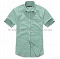 100% cotton print flannel men's short