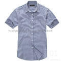 100% cotton yarn dyed flannel men's