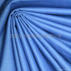 100% cotton solid color flannel fabric