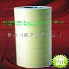 Water filter papers