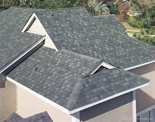 Round Of Shingle Single Layer Roofing China