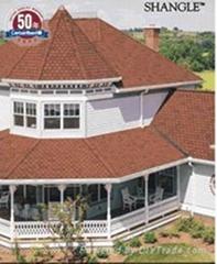 supply asphalt roofing tile
