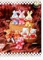 Plush toys-bunny 1