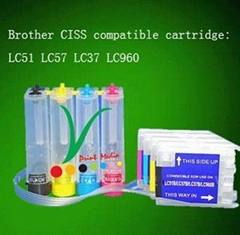 Brother continuous ink supply system