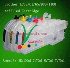 Brother LC38/16/61/65/67/980/1100 refill ink cartridge
