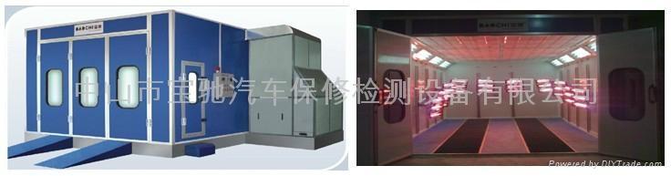寶馳噴烤漆房 BC-D718 電加熱型 1