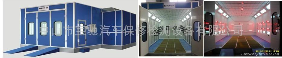 寶馳噴烤漆房 BC-D728 電加熱型 1