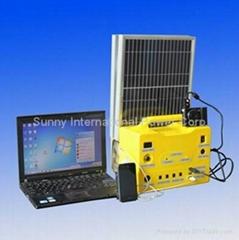 太阳以能发电系统