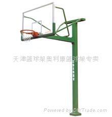 装拆式单臂篮球架