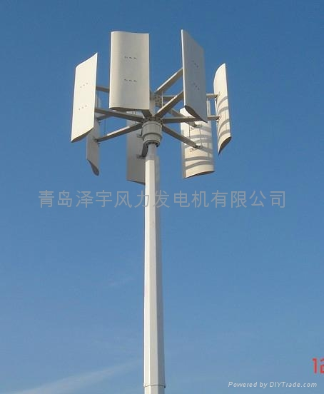 10KW vertical axis wind turbine 1